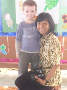 Joakim and miss Yuni